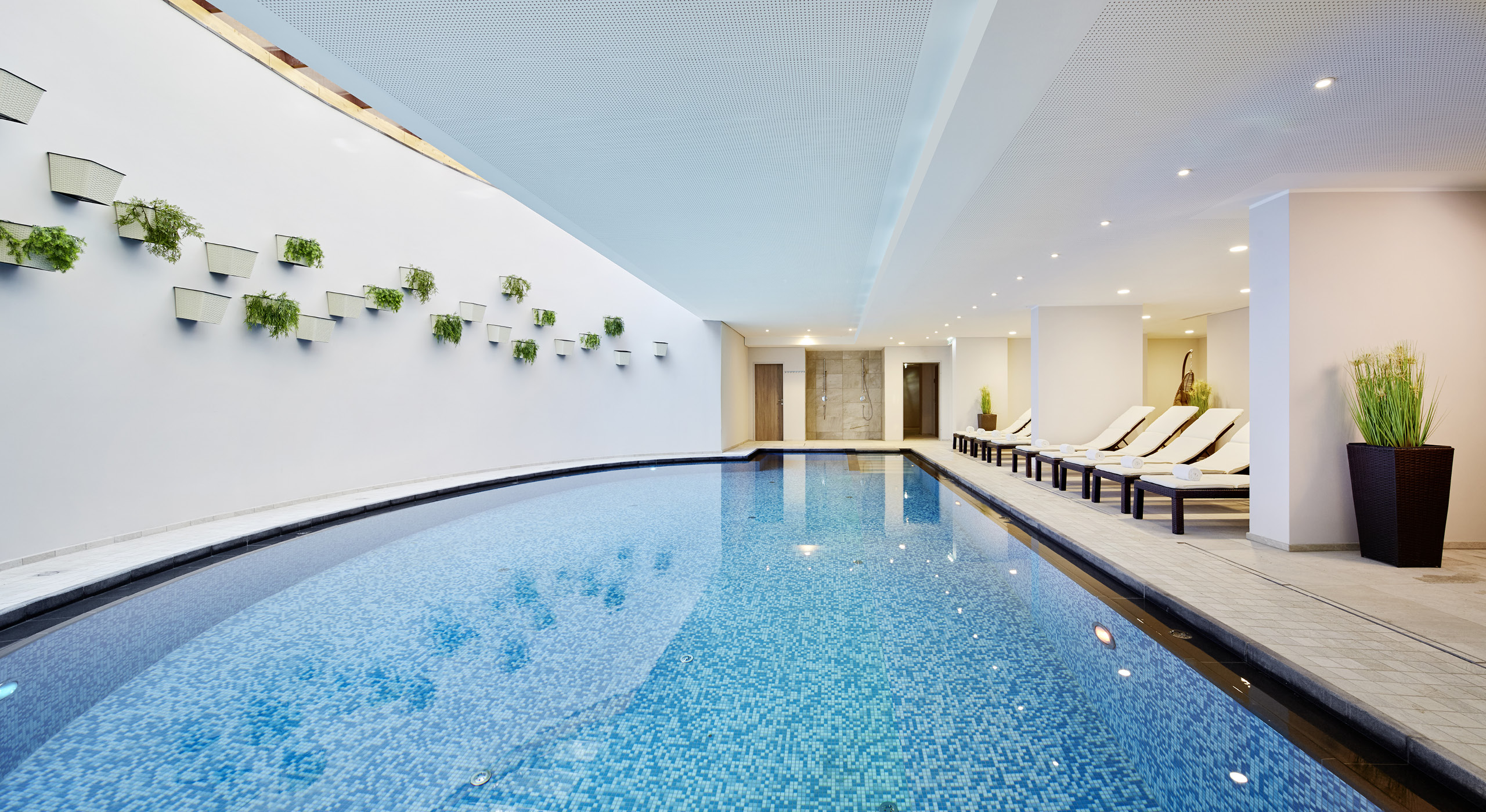 Schwimmbad-Alpenhaus