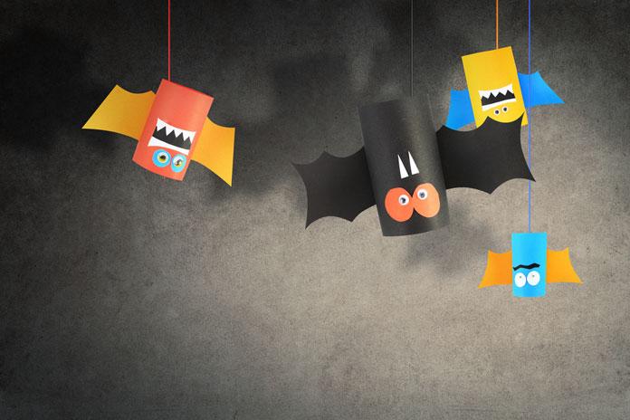 Halloween spezial gruselige dekoration basteln for Halloween basteln mit kindern kostenlos