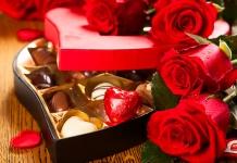 Valentinstag mit Pralinen