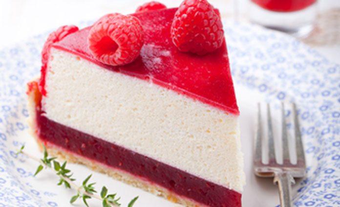 Himbeer Quark Sahne Torte Welovefamily At