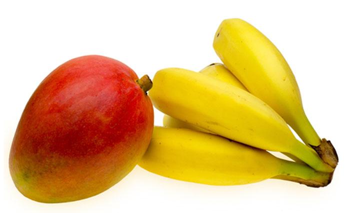 Bananen-Mango-Brei