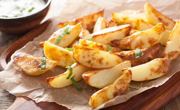 Knusprige Ofenkartoffel - Sticks