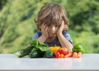 Kind mag keinen Spinat