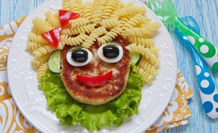 kreatives Kinder-Essen