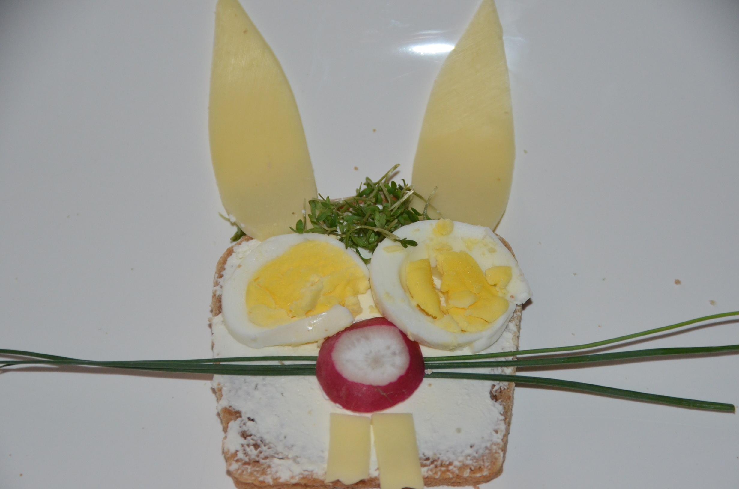 belegte brote lustige brotideen für kinder zu ostern