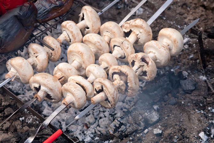 champignons-gegrillt