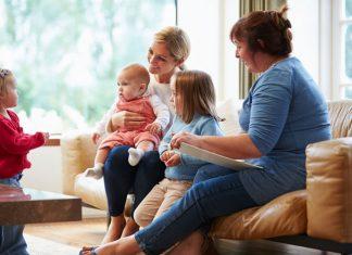 Treffen mit Familien