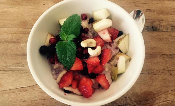 Superleckeres Winter-Porridge