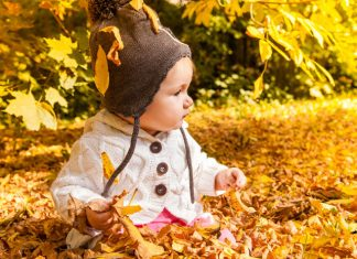 Baby anziehen Herbst