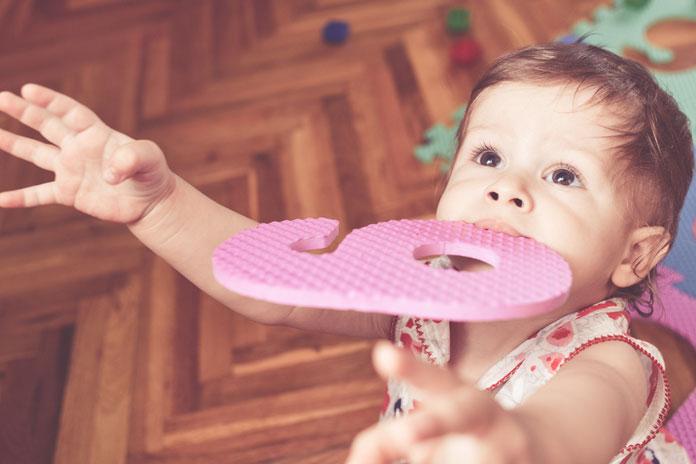 Wachstumsschub Baby 9 Monate