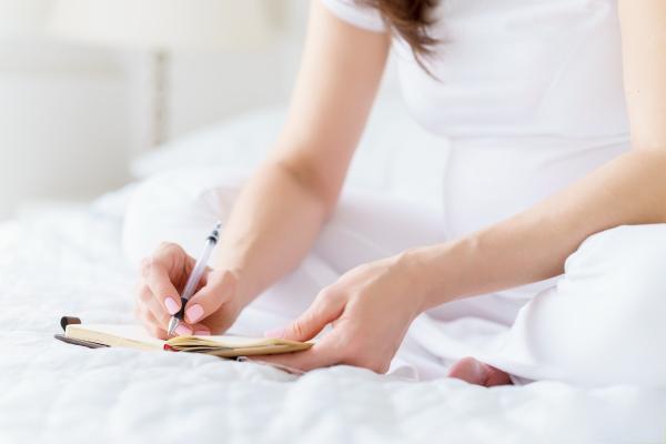 Träume-Tagebuch während der Schwangerschaft