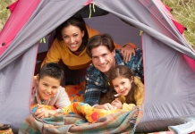 Camping Familie