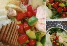 Sommer Fitness Salat
