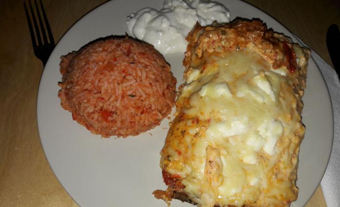 Enchiladas mit Faschiertem