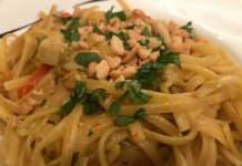One-pot Pasta Thai style