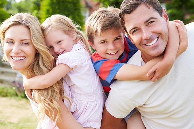 Familie Huckepack