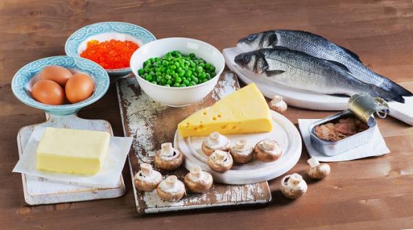Lebensmittel mit Vitamin D Gehalt