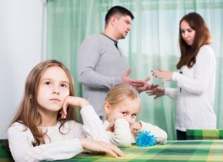 Partnerschaft Mann und Frau Scheidung, Trennung