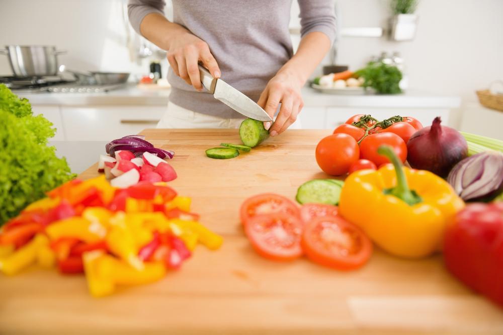 Strenge vegetarische Ernährung zur Gewichtsreduktion