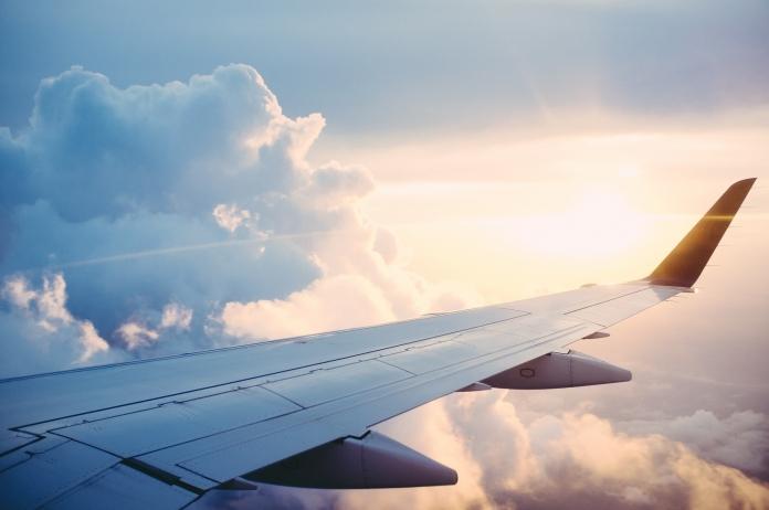 Flügel eines Flugzeuges