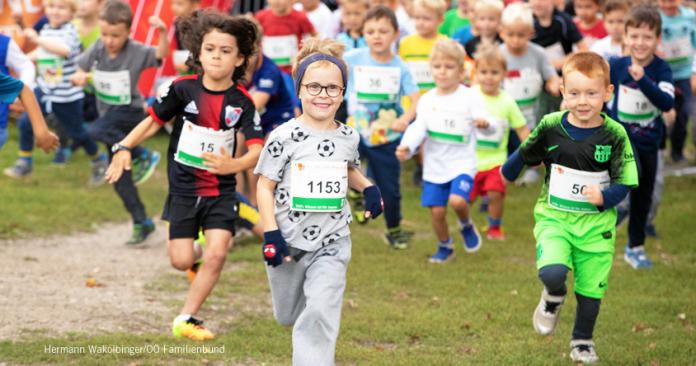 Kids-Run Foto: Wakolbinger/OÖ Familienbund